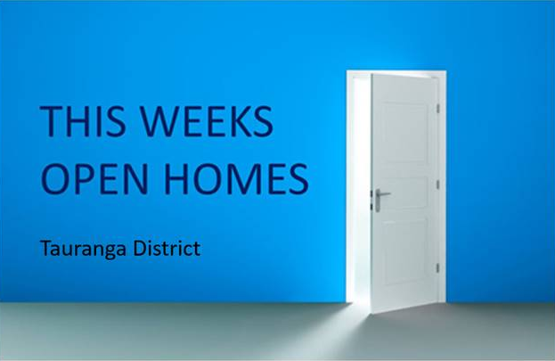 This weeks open homes graphic
